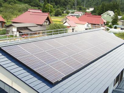 太陽光発電 段差解消パネル