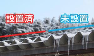 氷柱防止システム
