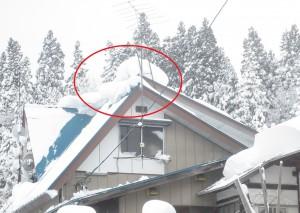 こんな塊は、冬の間の降雪でどんどん大きくなっていきます。